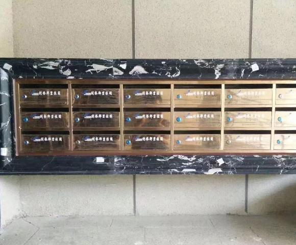 嵌入式不锈钢信报箱定制