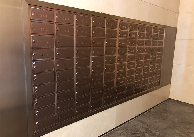 家用不锈钢信报箱