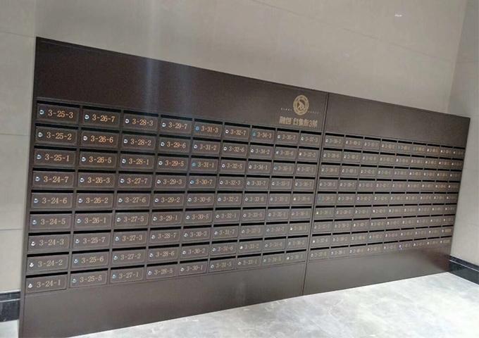 广西落地式不锈钢信报箱