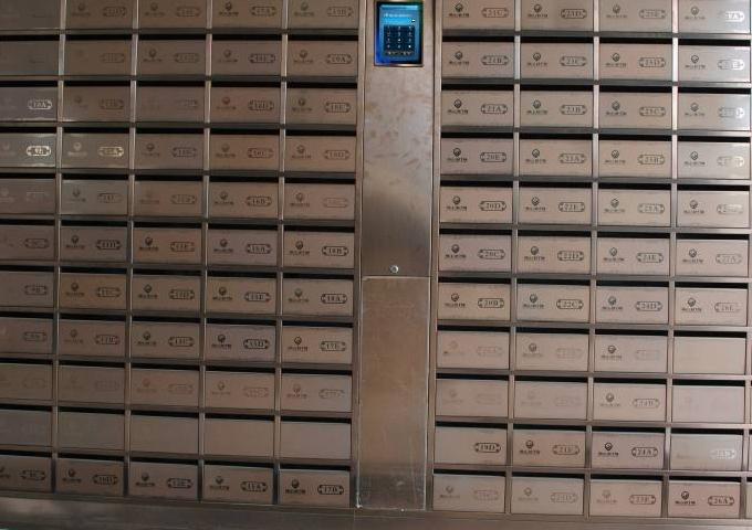 家用小区智能信报箱