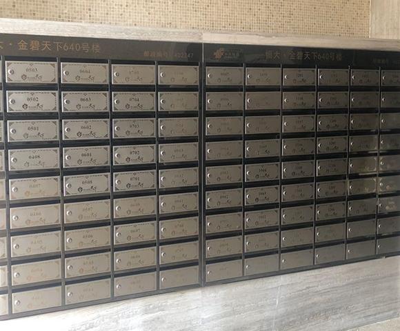 落地式不锈钢信报箱制作安装