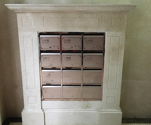 单元信报箱安装施工